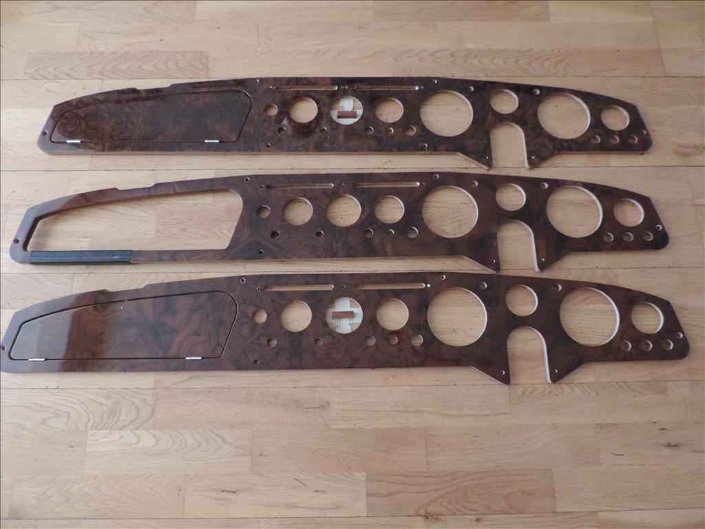 Alpine / Tiger Wooden Dashboards