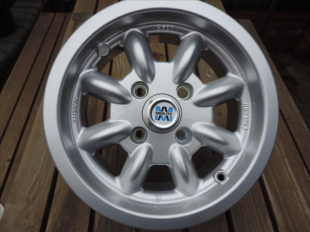 Alpine / Tiger Minilite Alloy Wheels