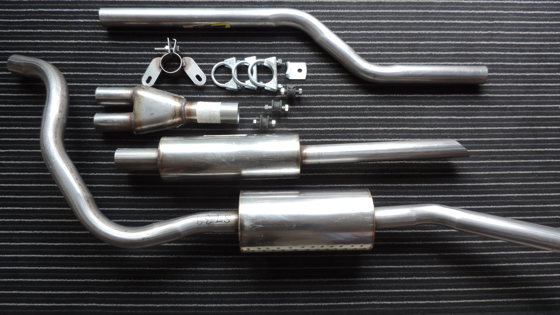 Sunbeam Alpine & Tiger Stainless Steel Exhaust Systems