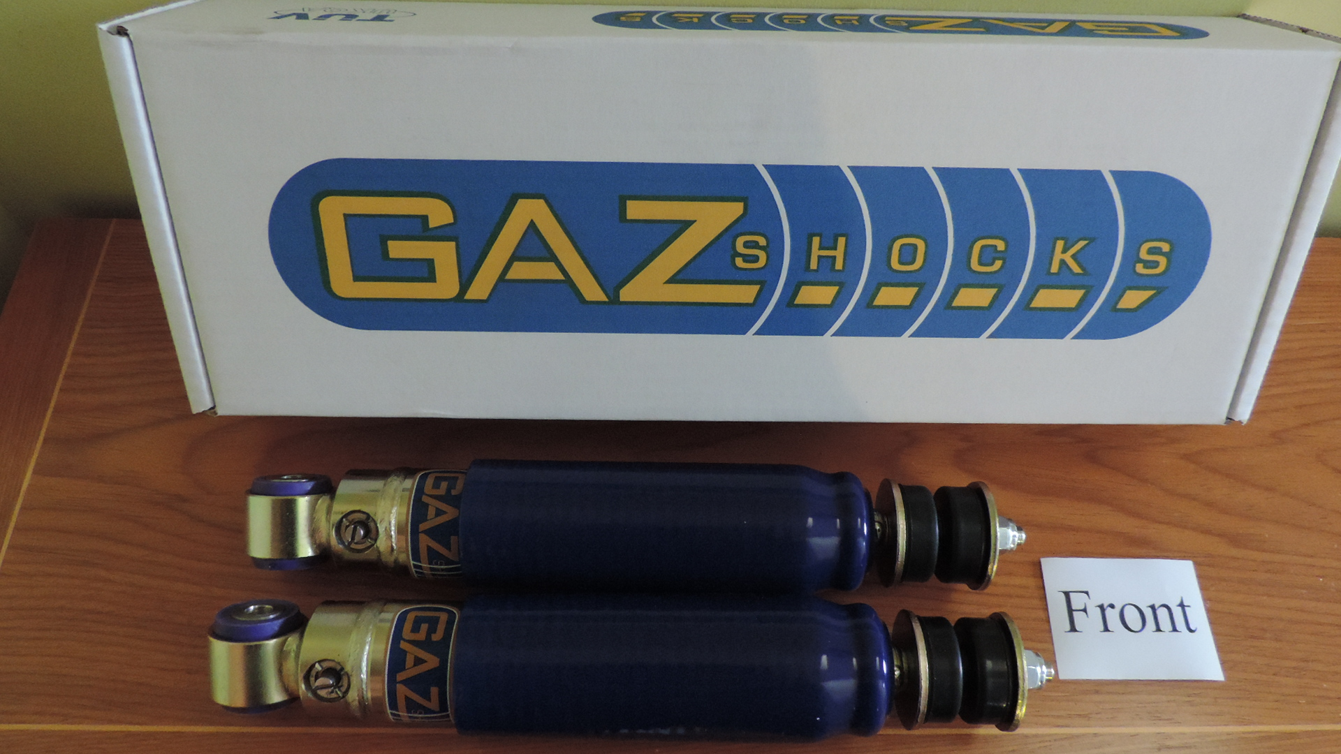 Alpine / Tiger Gaz Adjustable Shock Absorbers