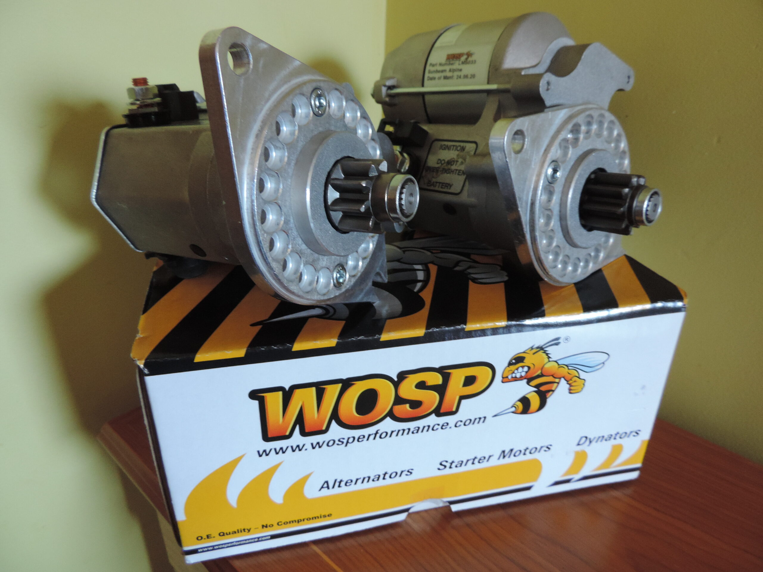 WOSP Starter Motors, Alternators, Dynators